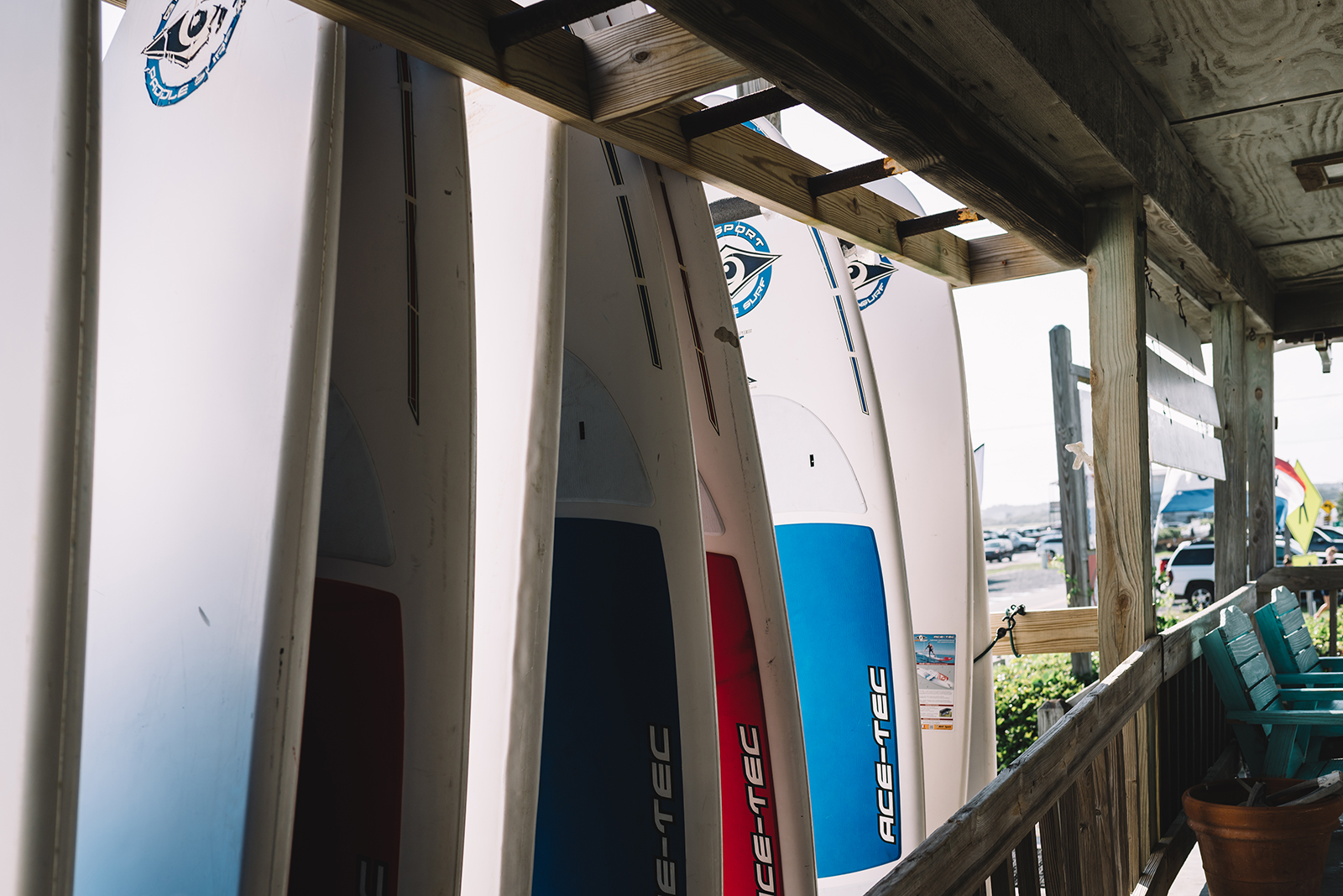 At Southend Outfitters you can rent a paddleboard, surfboard, or kayak!